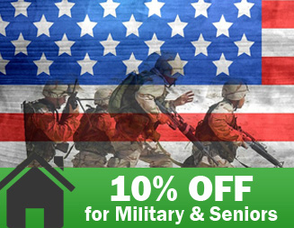 Ask about our Military and Senior discount!